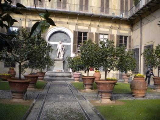 Medici Palace Gardens Florence Italy