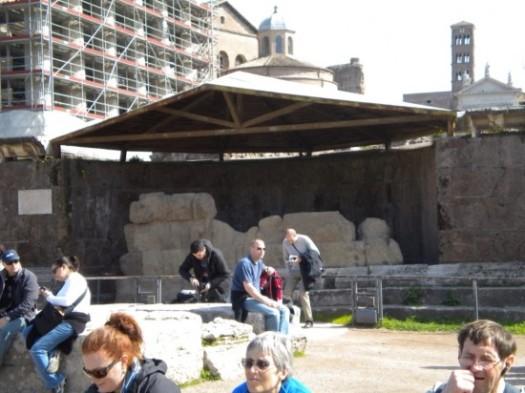 Julius Caesars Cremation Place