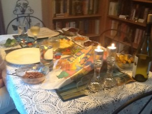 Rosh Ha Shanah Table Scape