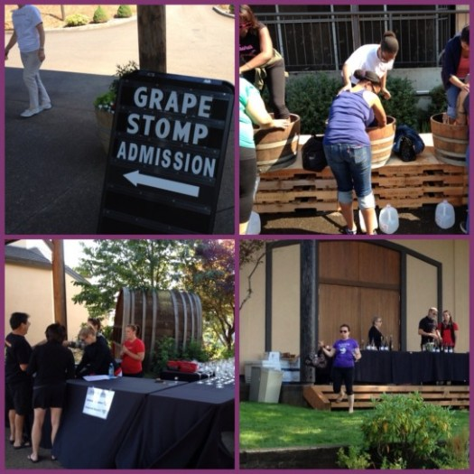 Grape Stomp Mosaic