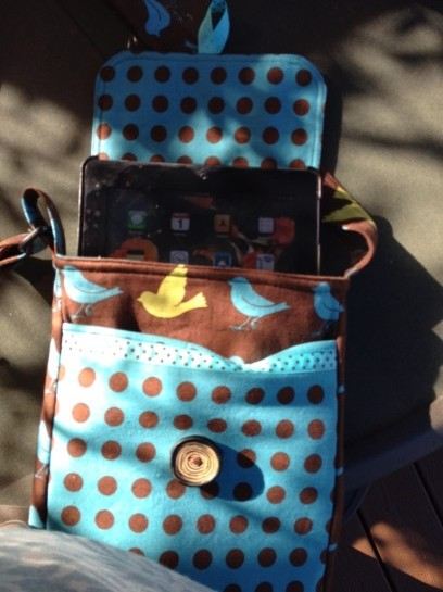 IPad In Main Part Of Tote