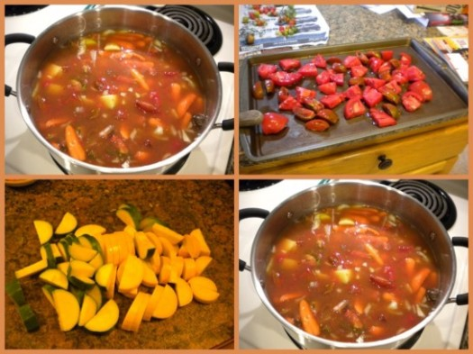 Vegetable Soup Mosaic