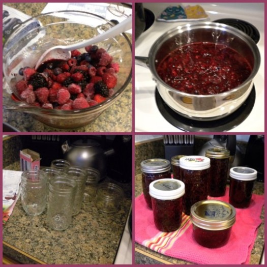 Mixed Berry Jam Mosaic